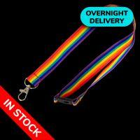 20mm Premium Rainbow Lanyards